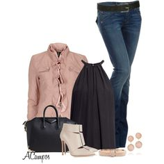 """""""Fall Ruffles"""" by anna-campos on Polyvore"""