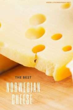 The wierd world of Norwegian cheese isn't all about brunost (brown cheese) – check out other popular types here. History Of Norway, Good Things, Cheese
