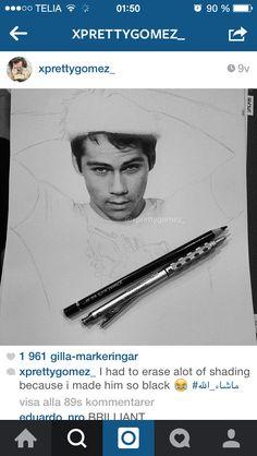 Dylan, o'Brien, drawing