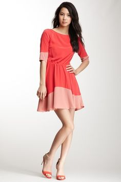 BB Dakota Coralie Colorblock Dress