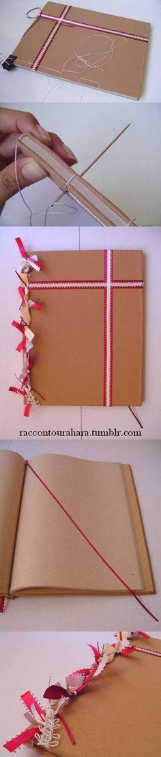 WIP Libro de firmas para boda  *** Para saber más sobre manualidades, deja comentario o consulta este link: http://raccontourahara.tumblr.com/post/107763911075/racconto-urahara-libretas-y-manualidades *** encuadernado, libretas, crafts, manualidades, japanese bookbinding, handmade notebook, guest book