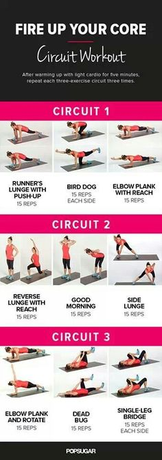 No equipment necessary! Add weights if you want.