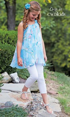 From CWDkids: Sheer Butterfly Tunic