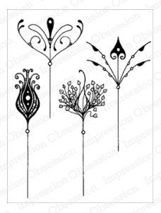 Impression Obsessions Flowers Cling Stamp $11 (shipping: 2.5-5.95; free over 50)