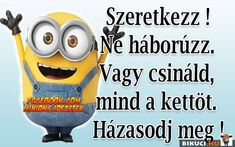 :D Vicces képek Minions, Life Hacks, Funny, Fictional Characters, Snow, The Minions, Funny Parenting, Fantasy Characters, Minions Love