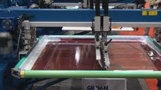Automatic Screen Printing: M&R Presses In Action