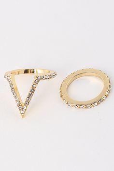 Venus Rings / BellaDonnaPrimaDonna  Available at www.BDPDXOXO.com