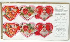 Current Inc Victorian Valentine's Day Garland or Table Decoration #CurrentInc #ValentinesDay