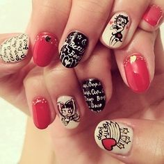 I just love these nails!!