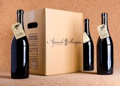 """Etichetta e scatola per il Lambrusco """"Rustico"""" di http://vinironzoni.it design by http://up-comunicazione.com  #label #wine #bottle #packaging #design #reggio_emilia #up-comunicazione"""