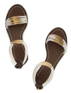 4a5bedf59d35 Tory Burch Mignon Rings Flat Sandal Shoes Flats Sandals