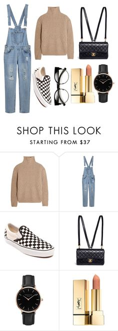 """Untitled #48"" by alexa-str on Polyvore featuring Totême, Vans, Chanel and Topshop"
