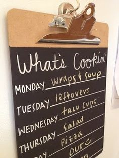 I found an old hymn board at an antique store and I might use it for a menu board, could do something like this