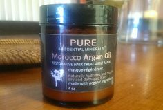 I was able to use Organic Morocco Argan Oil Hair Treatment Mask once.  After washing my hair and applying it to my hair, I was instantly hooked. http://www.freeandforme.org/2014/07/organic-morocco-argan-oil-hair.html