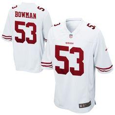 Youth Nike NaVorro Bowman White San Francisco 49ers Game Jersey 5caddbd56