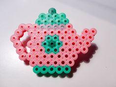 Teapot hama beads by Sarablabla