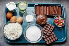 Smarties-Torte