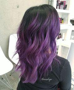 pastell lila haare mit schwarzen wurzeln haare in 2018 pinterest purple hair hair und. Black Bedroom Furniture Sets. Home Design Ideas