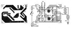Figura 6 – Placa de circuito impresso para a montagem