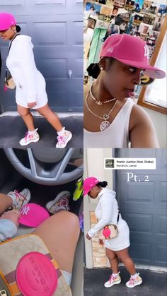 Swag Outfits For Girls, Girls Summer Outfits, Cute Swag Outfits, Pink Outfits, Teenager Outfits, Dope Outfits, Trendy Outfits, Baddie Outfits Casual, Clothes Pictures