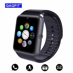 QAQFIT Bluetooth Smart Watch Men GT08 With Touch Screen Big Battery Support TF Sim Card Camera For IOS iPhone Android Phone  Price: 21.99 & FREE Shipping #computers #shopping #electronics #home #garden #LED #mobiles #rc #security #toys #bargain #coolstuff |#headphones #bluetooth #gifts #xmas #happybirthday #fun