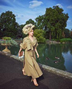 Harper's Bazaar December 2017 Emilia Clarke by Mariano Vivanco