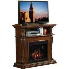 Electric Fireplace Media Center $600