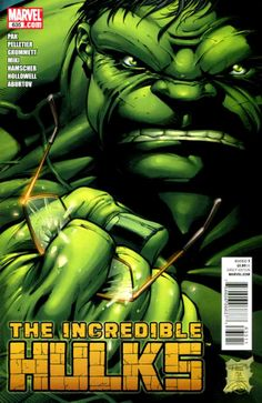 Incredible Hulks # 635 by Paul Pelletier & Danny Miki