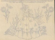 Crinoline Lady by LindaB