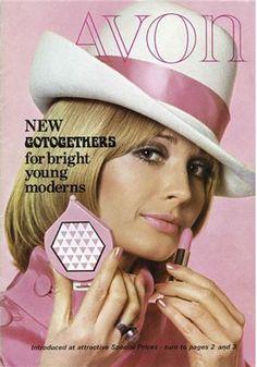 Avon, 1960s                                                                                                                                                                                 More Vintage Makeup Ads, Retro Makeup, Vintage Avon, Vintage Beauty, Vintage Fashion, Avon Lipstick, Mac Lipsticks, Avon Catalog, Avon Collectibles