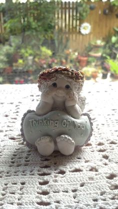Dreamsicles Cherub Angel THinking of you  Cast by pattiespassion, $8.99