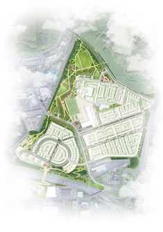 `Blue-Green' infrastructure works for Sighthill transformation #greeninfrastructure #landscapearchitecture #design