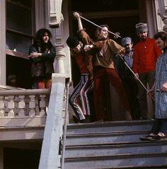710 ASHBURY ST., San Francisco, CA. Photo by Linda McCartney,1968