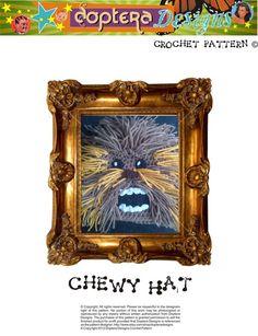 Crochet Chewbacca Hat Pattern