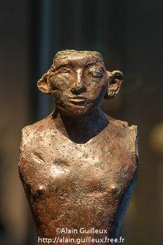 Amenenhat III; cuivre, or, électrum et cristal de roche; Munich - A. Guilleux