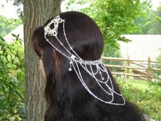 Arwen coronation headpiece | This Elven crown was sketched by a customer. I can only take credit ...