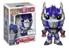 Transformers Optimus Prime Metallic Pop! Vinyl Figure