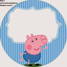 Kit festa George Pig - Montando Minha Festa Put a wedding which is uncomplicated, stylish, Peppa Pig Printables, Dinosaur Printables, Pig Birthday, Boy Birthday Parties, Birthday Ideas, Cumple George Pig, George Pig Party, Papa Pig, Peppa Pig Teddy