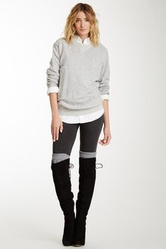 Stretch Legging - 2 Color Pack by Loveappella on @HauteLook