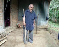Máximo Gómez tiene 117 años, habla fluido y con recuerdos de más de un siglo
