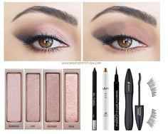 Naked 3 Makeup Looks – Beauty Point Of View Hello beauties! As promised, I've been putting the Urban Decay Naked 3 palette to the test. To show the versatility of the palette, I did 3 looks from the most… Beauty Make-up, Beauty Hacks, Hair Beauty, Beauty Care, Love Makeup, Makeup Tips, Makeup Looks, Makeup Ideas, Eye Makeup Tutorials