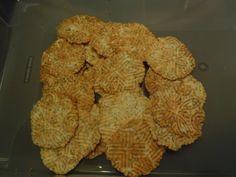 Bricelets au graines de pavot