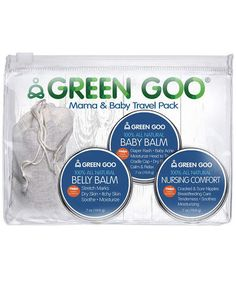 Green Goo Mama & Baby Travel Set | There was a time when you had to choose between delighting a recipient and making a small move for social good. But now you can win on both counts. Here's a batch of handpicked beauties your friends and family will love that also happen to boost really worthy causes. Read, get inspired, click, give... and collect the hugs. Everybody wins.
