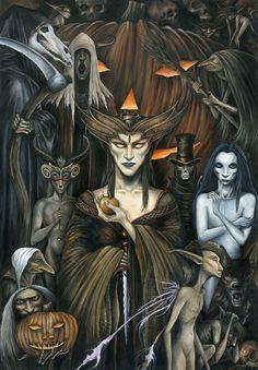 Samhain ~ Trick or Treat by Markelli.deviantart.com on @deviantART