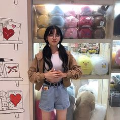Image about girl in ♡: ulzzang / ♀. Korean Fashion Trends, Asian Fashion, Girl Fashion, Fashion Women, Grunge Style, Soft Grunge, Moda Ulzzang, Ulzzang Korean Girl, Ulzzang Style