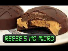 Como fazer chocolate Reese`s no Microondas