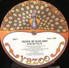 Blind Boy Fuller - Truckin' My Blues Away (Vinyl, LP) at Discogs