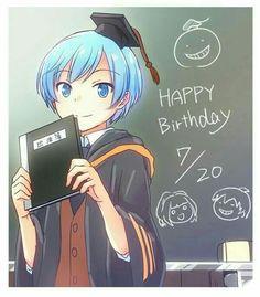Cedits: owner Happy birthday nagisa from Assasination classroom! Hot Anime Boy, All Anime, Manga Anime, Anime Meme, Assassination Classroom Karma, Koro Sensei Quest, Nagisa Shiota, Nagisa And Karma, Wattpad