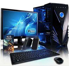 VIBOX Shock Wave Paquet 9 - Gamer, Gaming PC Ordinateur de bureau & Ecran, clavier et souris et Windows 10 (4.2GHz AMD Quad Core Processeur, nVidia Geforce GTX 960 Carte Graphique, 2To Disque Dur, 16Go RAM) VIBOX http://www.amazon.fr/dp/B009GK06V8/ref=cm_sw_r_pi_dp_hU3lwb1ZRY6YA