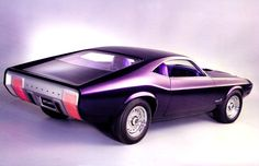 1969 Ford Mustang Milano Concept